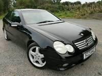 2003 Mercedes C230 AMG Kompressor C class Coupe Auto, FULL LEATHER! FSH, FULL YEARS MOT!