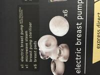 Electric breast pump