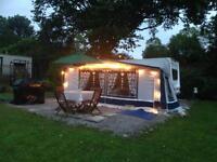 5berth (sited) touring caravan