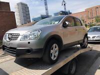 Damaged Nissan qashqai bargain