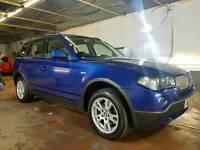 2007 MODEL LCI FACELIFT BMW X3 3.0d SE 4X4 231bhp Auto, BEAUTIFUL EXAMPLE! SAT-NAV! FSH! FULL MOT!