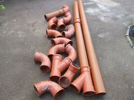 GRAB A BARGAIN!!!!WASTE PIPES UNUSED VERY GOOD CONDITION.