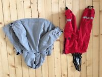 High performance bundle of rainproof jackets and overalls - size 86 and 92