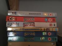6 scrubs series dvds