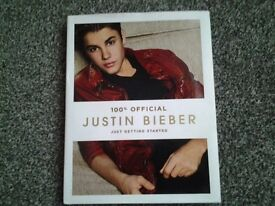 Justin bieber - just getting started book