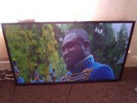 Toshiba 48L1433DB,48 inch full HD LCD TV,3xHDMI,2x USB.Goodmans 500GB Freeview recorder,both used