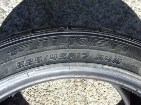 4x 225 45 17 94W Falken ZE914 225/45R17 Car tyres x4