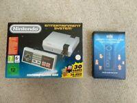 Nintendo Mini NES Mint Condition plus extra controller