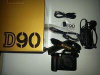 Nikon D90 12.3 MP Digital SLR Camera (body only)