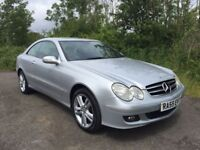 Merecedes-Benz CLK220 CDi **Coupe**DIESEL**F.S.H**LONG MOT**50MPG**Call now to arrange your viewing*