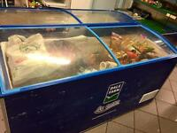 Shop / restaurant freezer & other items