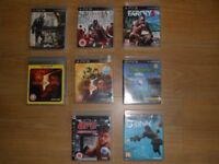 PS3 GAMES 8 GAMES FOR JUST £15