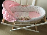 New mothercare Moses basket n stand