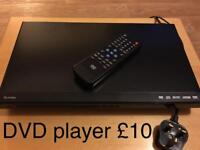 Technika DVD player with remote control