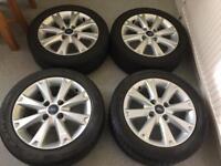 Ford Fiesta Alloy Wheels 195)50)R15