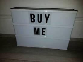 Lightbox only £5