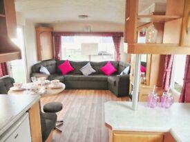 PERFECT caravan for beginners. 3 bedroom. Sited in Norfolk nr Wells. Indoor Heated Pool + facilities