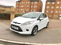 FORD FIESTA ZETEC S, 60 PLATE, WHITE, 45000 MILES, AMAZING LOOKING CAR, MUST BE SEEN.