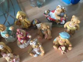Bundle of cherished teddies