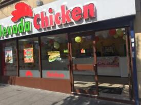 Chicken, Peri Peri, pizza , and Desserts shop for sale , No rent No Rates