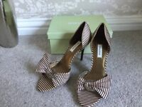 Dune shoes and handbag to match size 7, very good condition Worn once for a wedding.
