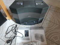 Bose accoustic wave cd3000(2) with multi disc 5 changer player R-Control Mamuals