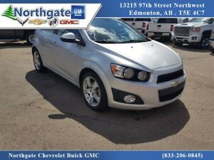 2012 Chevrolet Sonic LT Hatchback, Automatic, Heated Seats, Sunr