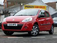 2010 REG RENAULT CLIO EXTREME 1.2cc 3 DOOR. Call PaisleyCarSales on 10418899200 / Mob, 07895607121