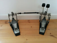 Double bass drum pedal, Yamaha DFP880, never gigged, good condition