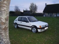 STUNNING HUGE SPEC PEUGEOT 205 1.6 GTI GTI6 ENGINE £££££s SPENT WITH HISTORY NO OFFERS MAY PX