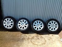 Alloy wheels .ford 16 inch 5 stud focus. Connect van. Mondeo