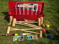 Jaques of London Edenbridge 6 Player Family Croquet Set