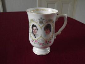 Prince Charles & Lady Diana Wedding mug