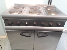 Lincat 6 Ring Electric Fan Oven/Cooker