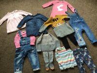 NEXT girls clothes bundle 12-18 months, worth £120