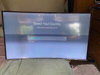 """Samsung Smart 4K Curved 50"""" Tv"""