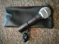 SM58 Mic, Stand & Cable