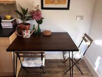 Wooden Hairpin Kitchen Table