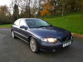 Volvo s60 2 litre turbo full leather long mot