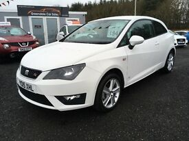 2015 SEAT Ibiza 1.2 FR, 6,000 Miles, 12 MONTHS WARRANTY, Finance Available