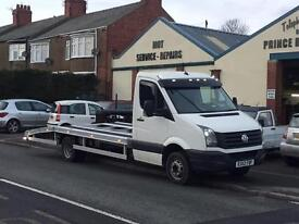 2012 5 ton Volkswagen crafter recovery truck