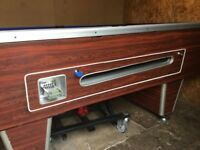 7ft reconditioned slate bed pub pool table