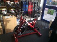 BH Fitness SB1.4 Indoor Cycle Bike 18kg Flywheel Ex Display Model
