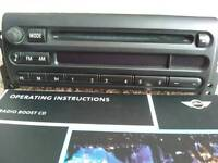 Original BMW Mini One car stereo