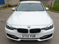 BMW 3 SERIES 2.0 318D SPORT 4d 141 BHP MEDIA CONNECTIVITY + BLUETOOTH + 1 PREVIOUS KEEPER ++