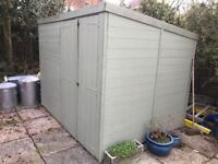TREATED GARDEN SHED 6 X 8 QUALITY MADE