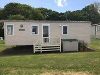 Immaculate 2 bedroom static caravan for sale at Blue Anchor Bay
