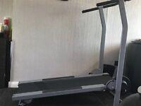 Manuel treadmill hardly used