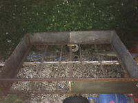 Car Trailer 6ft x 4ft Solid Condition.