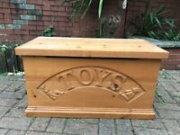 TWO Steve Allen Toy Boxes